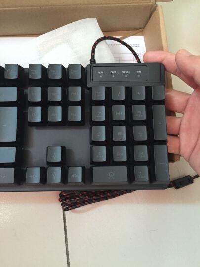 黑爵(Ajazz)Q7游戏鼠标、机械战士一代 黑色 晒单图