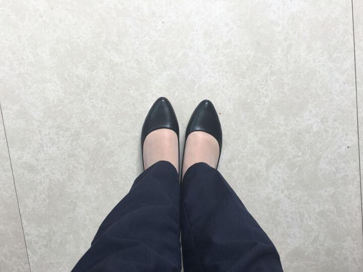 玫蒂莎 (MDIS∧) 舒适休闲逛街开车都方便女鞋 AE186 黑色37码 晒单图