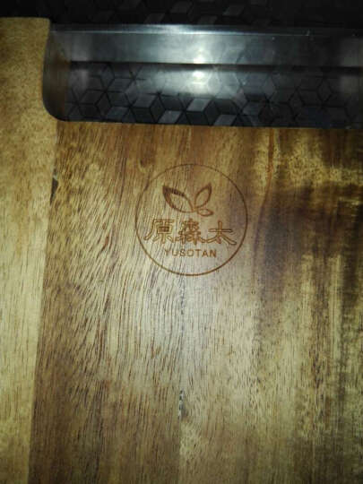 原森太 相思木 菜板 砧板 加厚实木案板擀面板家用粘板 切菜板 升级款大号 30X45CM 晒单图