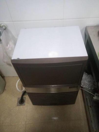 乐创(lecon) 商用制冰机方块制冰机大型制冰机全自动制冰机奶茶店酒吧KTV 300KG制冰机不锈钢款 晒单图