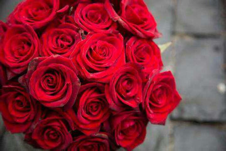 19枝粉玫瑰礼盒同城鲜花速递母亲节礼物上海鲜花南京北京广州杭州苏州无锡 19枝玫瑰混搭 晒单图