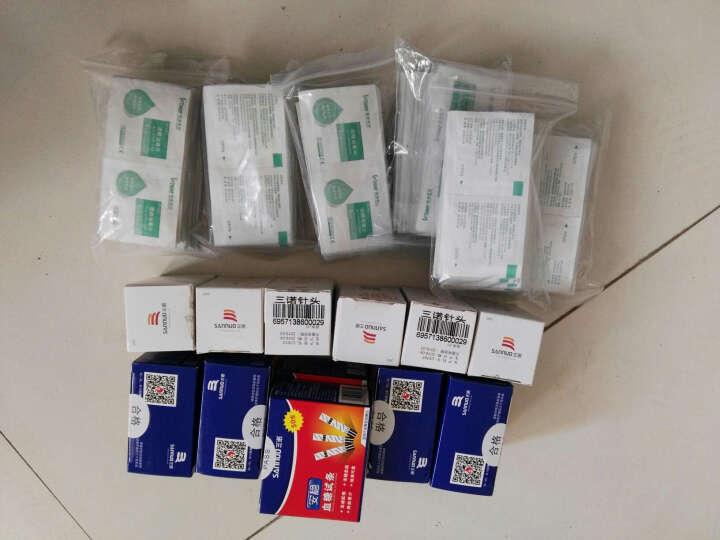 三诺(SANNUO) 三诺安稳 血糖仪试纸 家用血糖试纸 安稳血糖仪(不含试纸) 晒单图