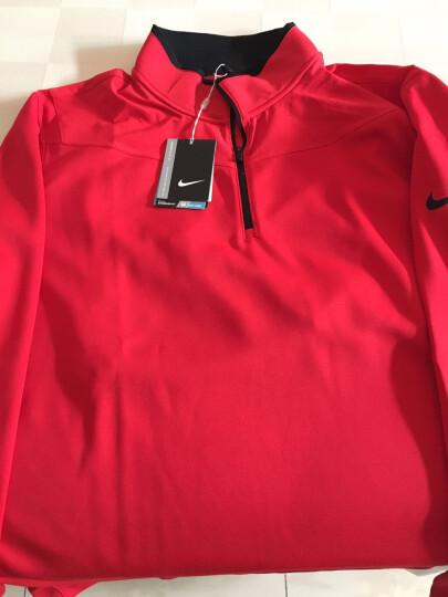 Nike耐克长袖T恤男新款运动透气针织POLO衫高尔夫服装 456848-514打底衣 L 晒单图