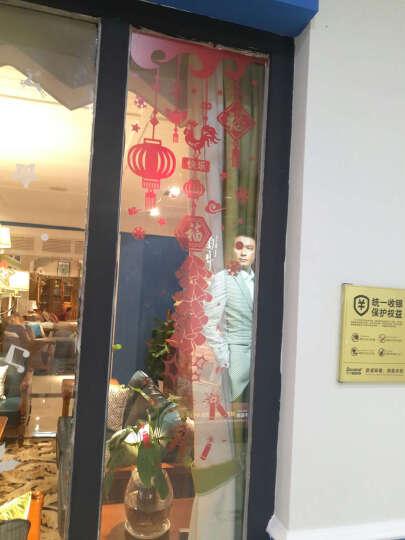 麦朵 新年装饰品墙贴画橱窗玻璃贴纸窗花门贴春节过年布置喜庆灯笼福字 7.新年鞭炮 晒单图