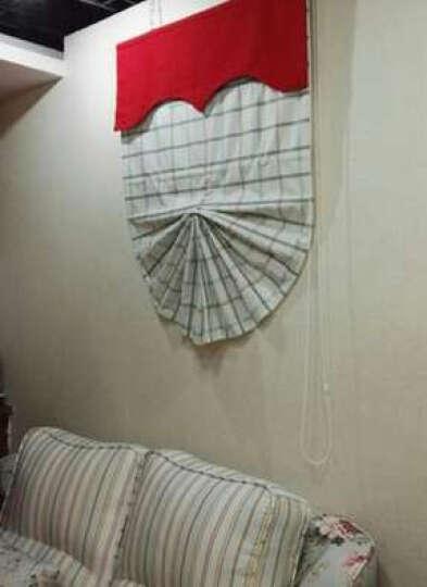 京大人欧式窗帘扇形升降罗马帘地中海风格客厅卧室