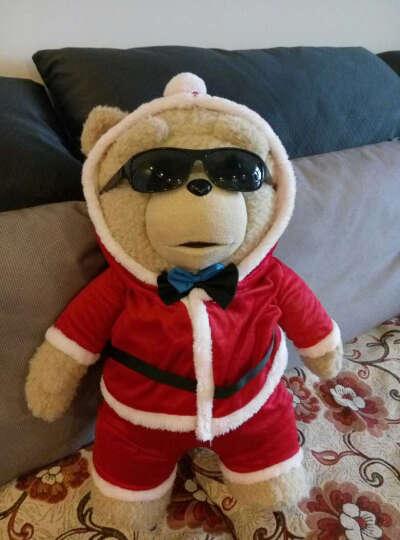 唯米 美国电影泰迪熊ted萌贱熊ted熊会说话的只有配饰 配饰大全 红色LOVD毛衣 晒单图