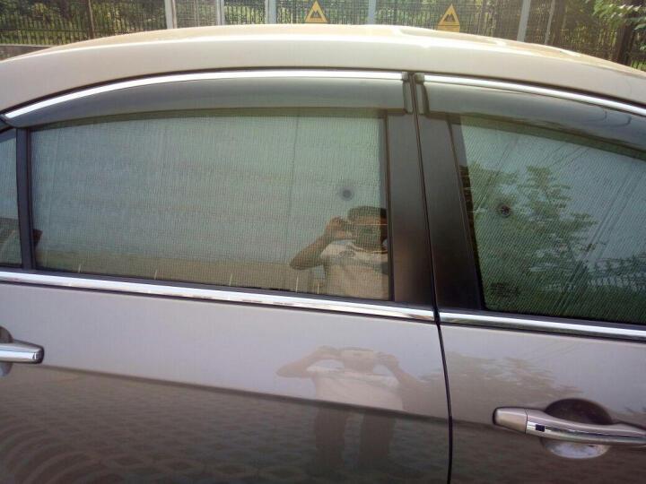 佳卡诺 专用加厚汽车遮雪挡防霜防雪挡遮阳挡6件套遮阳板防晒垫隔热前档车用避光垫汽车用品超市 奥迪A1 A3 A4L A6L Q3 Q5 增强款 单片装前档 专车专用型 外用遮雪遮阳 晒单图