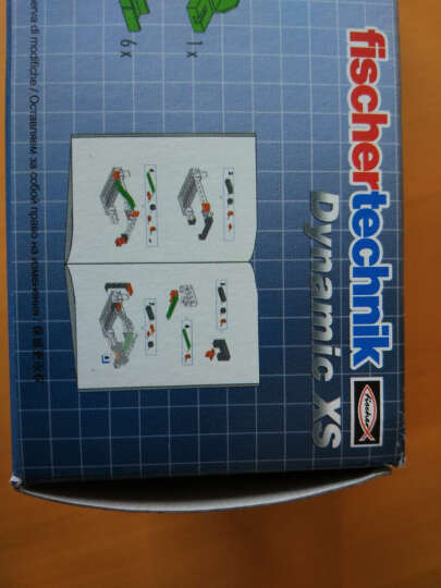 fischertechnik慧鱼德国益智儿童玩具 立体拼插玩具 动能套装 云霄飞车弹珠赛道 S小号536620 晒单图
