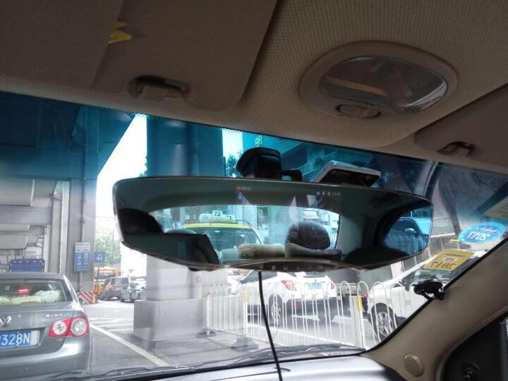 安尼泰科 T2前后双镜行车记录仪双镜头 倒车影像 5英寸大屏 1080P高清 画中画显示 标配+索浪一转三车充 晒单图