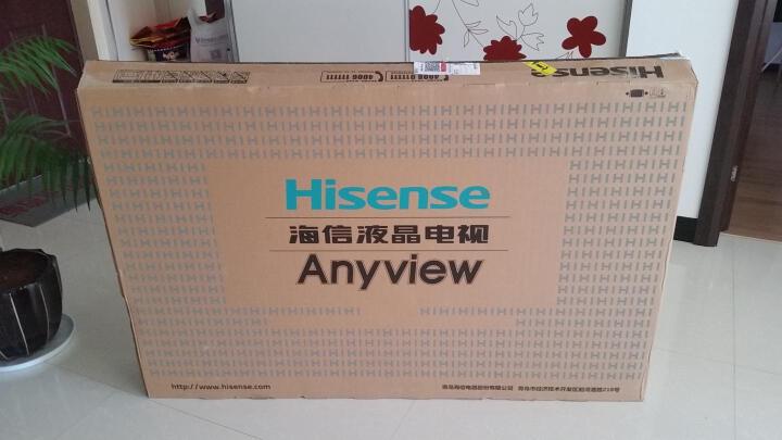海信(Hisense) 银翼勇士 55英寸超薄4K智能液晶电视机 金属机身 晒单图