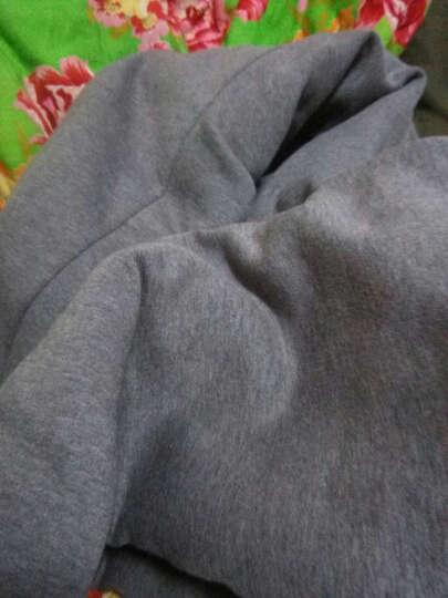 魅冰运动套装男士短袖长裤2017夏季健身运动服休闲套装跑步服大码运动衣 麻灰色 2XL/180 晒单图
