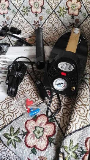 车志酷 车载吸尘器充气泵打气12v车用家用大功率车家两用干湿两用汽车车内吸尘器 车载吸尘器(表针胎压表-白色) 晒单图