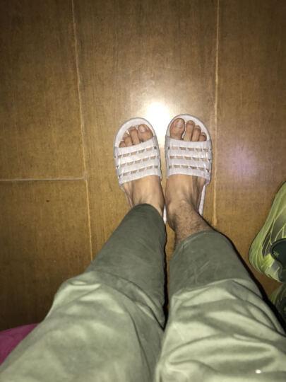 恋家 新款夏季凉拖鞋防滑浴室拖鞋 男款深蓝色41码 LJ88820 晒单图