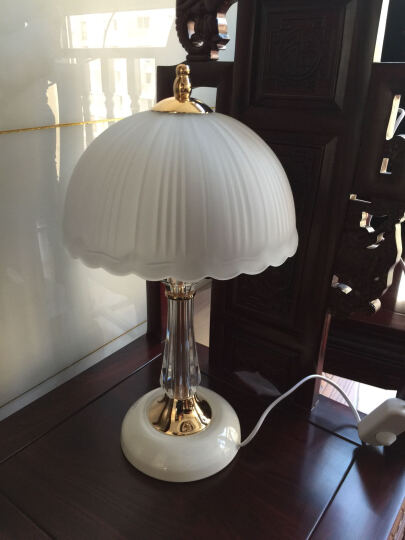 【京东超市】冠雅 水晶工艺装饰台灯创意时尚欧式
