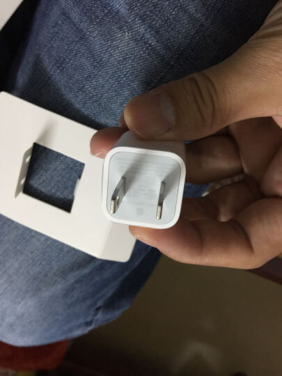 Apple 苹果原装数据线iPhone6s/8/X/7Plus/ipad USB头线充电器 5W充电器+Lightning数据线 晒单图
