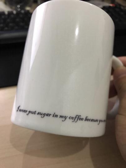 陶瓷杯马克杯定制图片强化瓷diy印制l公司ogo订制照片二维码礼品杯子广告水杯 全白强化瓷(50个以上可选) 晒单图
