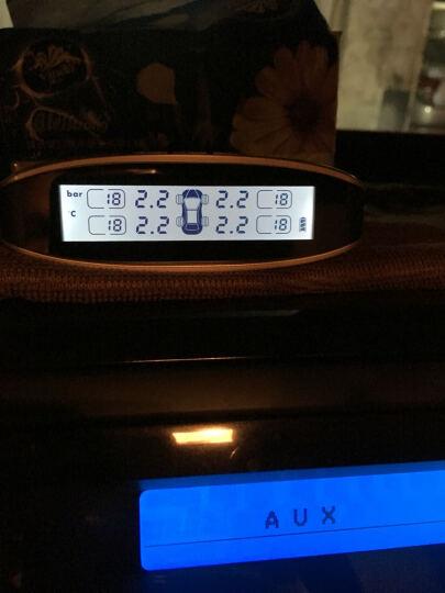 安驾 A625TPMS胎压监测仪太阳能LCD四轮同显 无线外置胎压 无线内置胎压 内置胎压一套 晒单图