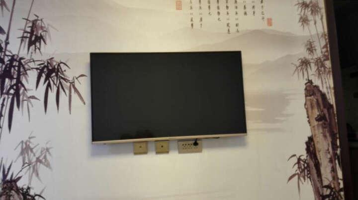 微鲸(WHALEY)WTV43K1J 43英寸 智能4K超清平板电视(黑色) 晒单图