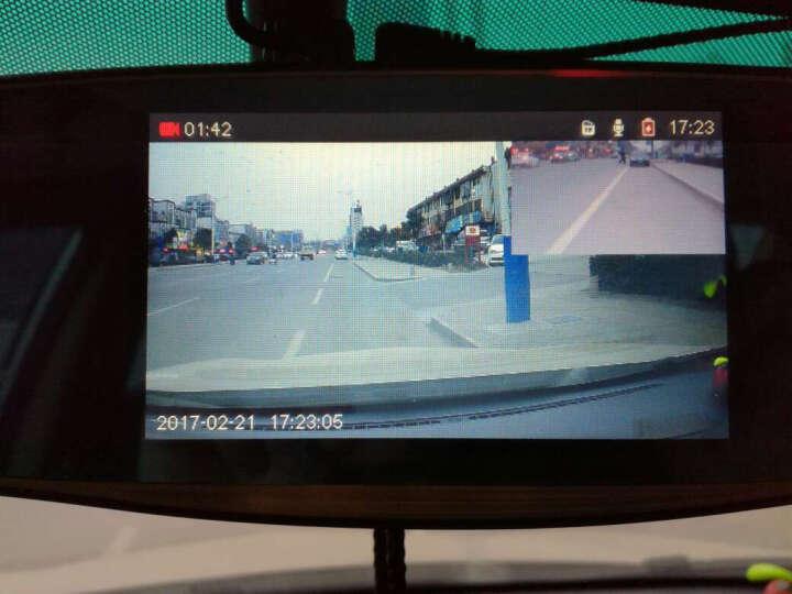 行车记录仪高清 后视镜 倒车影像一体机可选导航电子狗 7英寸EM65双镜头导航电子狗版+32g内存卡 晒单图