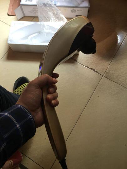 南极人 无线颈椎按摩器颈部腰部肩部背部腿部按摩仪电动按摩棒按摩捶 NBX6F50103D黑色 晒单图