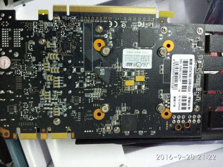 精影 GTX760 2GD5高频1152SP 256BIT高端游戏显卡 晒单图