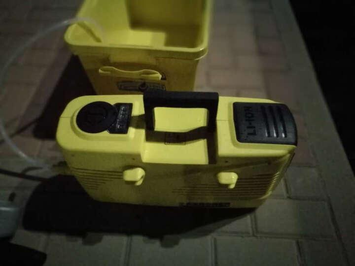 KARCHER 德国凯驰K1无线充电高压洗车机家用洗车器高压清洗机高压水枪自吸 晒单图