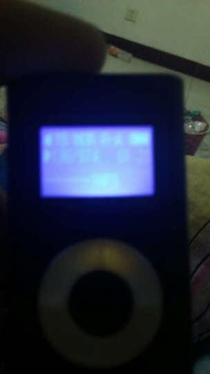 mate 迷你mp3播放器学生英语学习有屏插卡迷你运动跑步随身听音乐 黑色/内存8G 晒单图