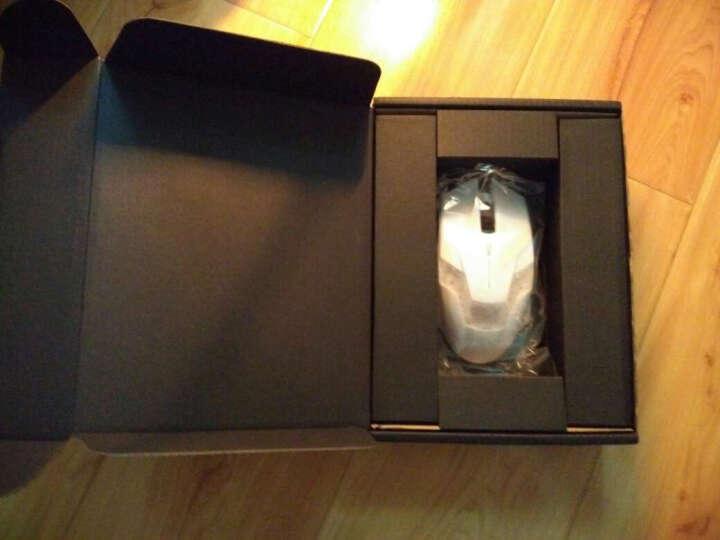 黑爵(AJAZZ) 电竞游戏鼠标有线USB牧马人2代机械鼠标台式电脑笔记本宏网吧守望先锋 G11银底黑色(静音版) 晒单图