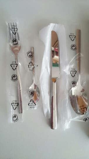 福腾宝(WMF) 德国WMF福腾堡Profi西餐具套装4件套装 牛排刀叉勺 汤勺甜品勺 儿童专用餐具套装12.8070.9000小熊浮雕 晒单图
