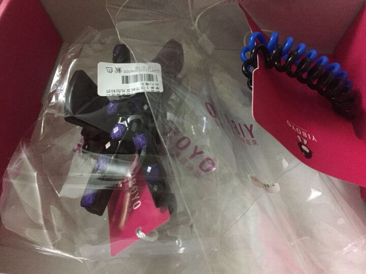 YIBOYO来自韩国的美丽饰品 电话线发绳皮筋 基本款进口发饰女 (4根一组) 深彩色 中号(4根) 发圈 晒单图