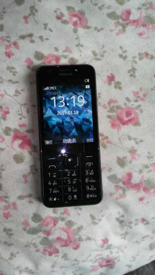 诺基亚(NOKIA) 230DS 移动联通2G 双卡双待 老人手机老年人手机 银灰色 晒单图