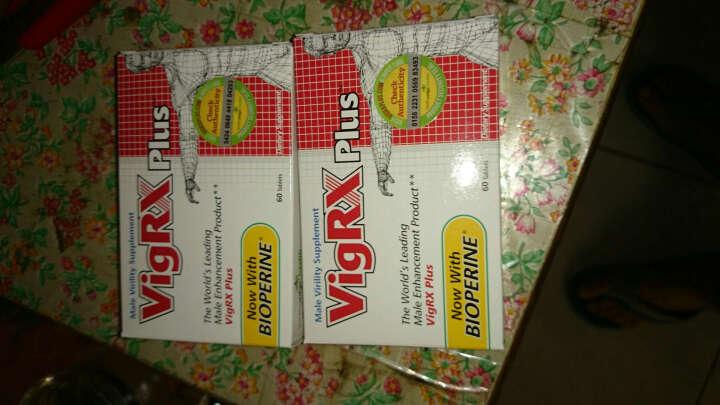 vigrx plus威乐男性保健品 男用延时药 曾大曾粗 6盒Plus-美女尖叫装 晒单图