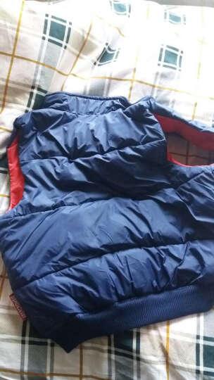 亿瑞森(YiRuiSen)羽绒服男女款马甲情侣男士冬装休闲运动外套时尚韩版衣服 绿迷彩 XL 晒单图