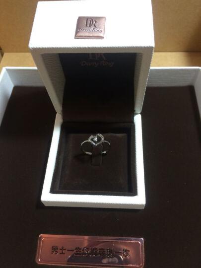 DR Darry Ring 白18K金简约钻戒佩戴女求婚/结婚钻石戒指 求婚钻戒 限购一枚 晒单图