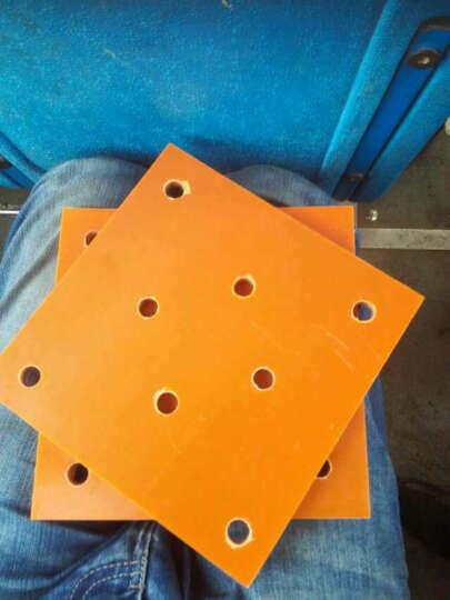 圣吉利 橘红色电木板 胶木板 绝缘板 材料加工切割 200*250*15mm 晒单图