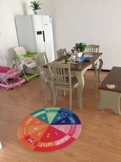 君诺 圆形地垫电脑椅垫转椅垫吊篮儿童卡通爬行毯简约定制 米老鼠 直径1.2米 晒单图