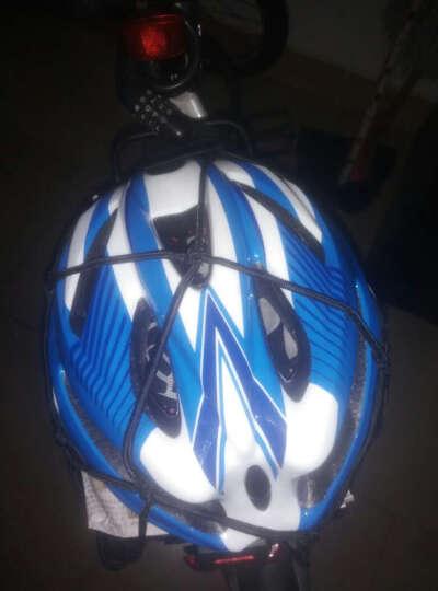 摩托车网兜 行李兜 油箱网 头盔网 自行山地车网绳网袋 骑士装备 包邮 黄色 40*40的25孔 晒单图