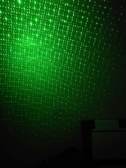 狂火 大功率超远满天星镭射激光手电筒 导游绿光红外线灯天文教学逗猫指星笔沙盘售楼教鞭指示器 金色(1电1充1头) 晒单图
