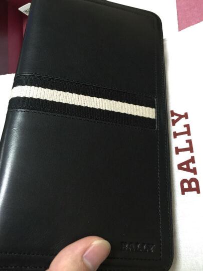 【京东秒杀】巴利BALLY钱包 手包 手抓包 巴利手拿包男士钱夹拉链包TEVIN 棕色 晒单图