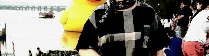 预立悦胖妹妹加肥加大码女装秋装针织衫套装特大码胖mm长袖毛衣200斤胖人女装修身显瘦款条纹连衣裙 桔红色 3XL*建仪160-180斤 晒单图