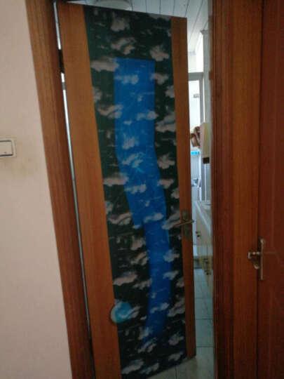 壹汇玻璃贴膜透光不透明 带胶 卫生间窗户玻璃贴纸防晒防水玻璃贴 卫生间玻璃贴 蓝天白云加厚款 90厘米宽x2米长 晒单图