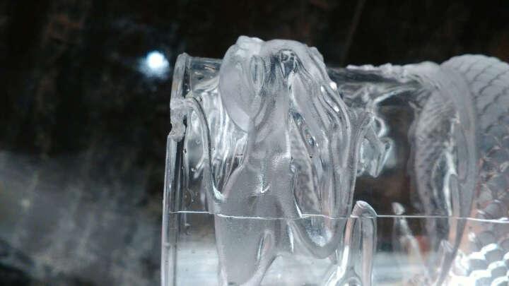 创意水杯倒水就亮 感应冷光水杯 七彩发光杯 LED闪光杯 酒吧杯子发光龙杯冷光酒杯 晒单图