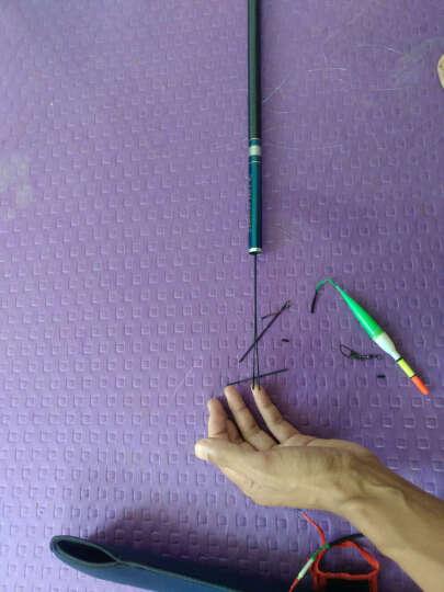 蓝鲨(BlueSHARK) 浴火凤凰 高碳素超硬调台钓竿钓鱼竿手竿套装组合鱼杆渔具 浴火凤凰5.4米 晒单图