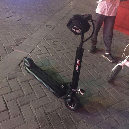 kaabo启步电动滑板车 行天下成人便携折叠锂电池代驾电瓶车防水踏板迷你自行车代步电动车 8寸魔幻白10.4AH续航20-30km 晒单图