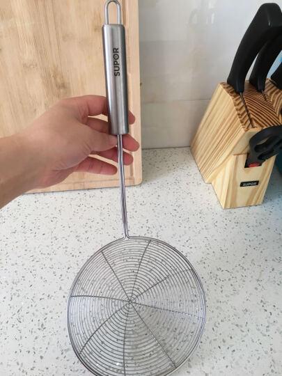 苏泊尔(SUPOR) 不锈钢多功能自由组合配件 炒菜铲子 捞勺 滤网捞面条 小汤勺-KT07C2 晒单图