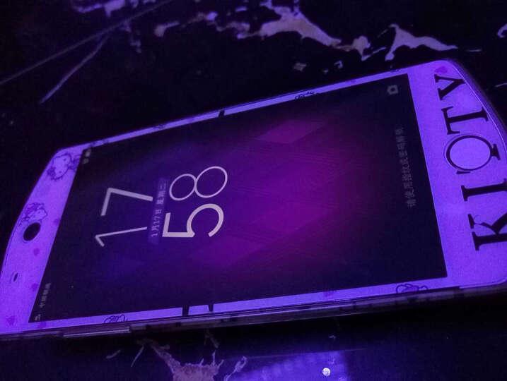 都米 手机保护膜 前钢化后闪粉彩膜 前后贴膜 适用于 美图M6 蝴蝶结KT 晒单图