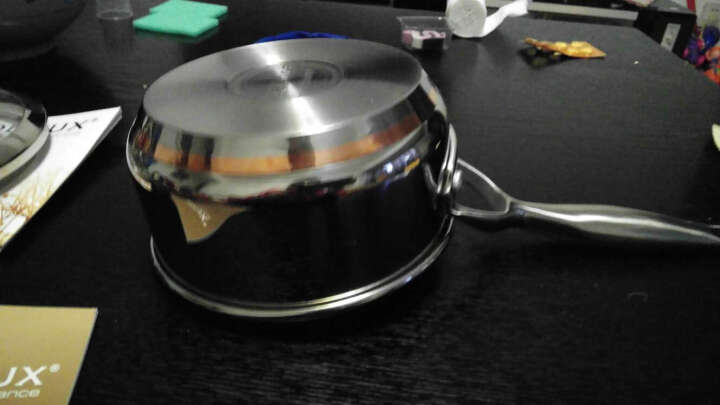 铂帝斯Bodeux 皇室奶锅14CM 纯铜芯迅热304不锈钢隔热精铸手柄 节能省时 导热均匀快 晒单图