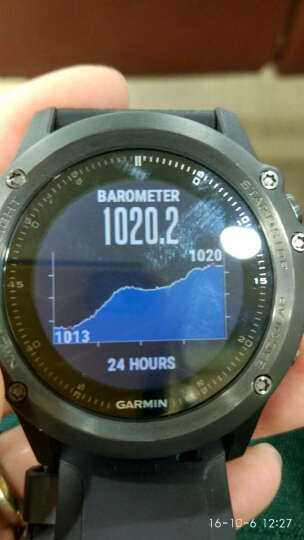 佳明(GARMIN)fenix3HR 飞耐时3HR户外GPS跑步游泳智能手表运动登山腕表蓝宝石镜面光学心率英文版 晒单图