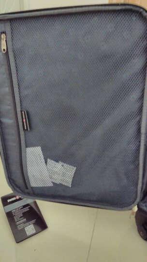 瑞士军刀威戈Wenger 20/24英寸拉杆箱 旅行箱行李箱登机箱 万向轮软箱 出差男女士 新品黑色【22英寸】 晒单图