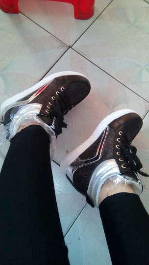 歌山品悦女鞋 休闲鞋女韩版圆头平底新款女鞋子 白色 A10 36 晒单图